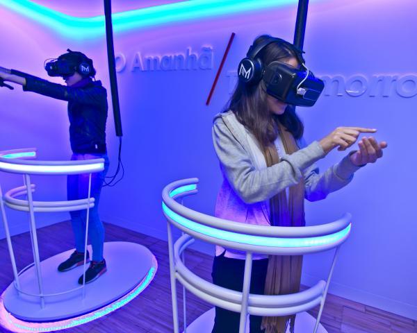 NewsMuseum, um museu interativo sobre Comunicação - realidade virtual