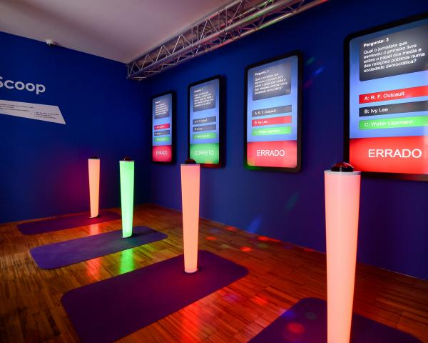 NewsMuseum, um museu interativo sobre Comunicação - tecnologia
