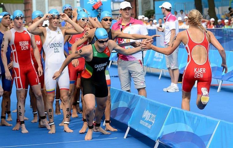 Triatlo jogos olimpicos