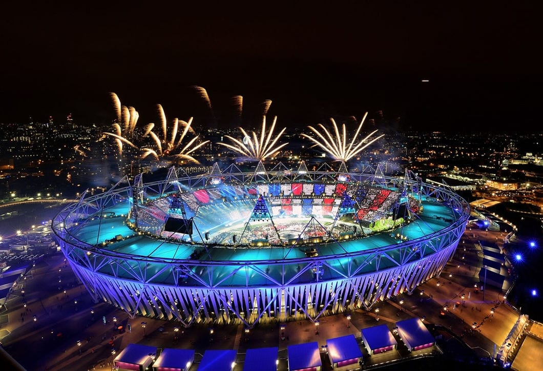 cerimonia de abertura dos jogos olimpicos