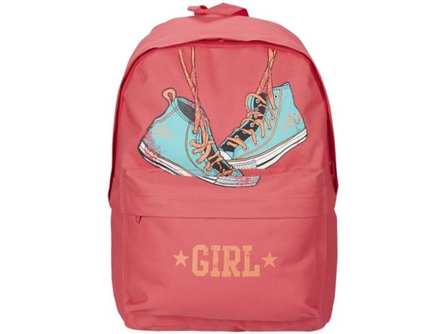 mochila cor de rosa sport zone