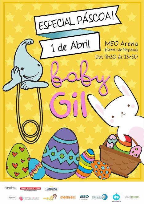 As melhores atividades para Grávidas na semana de 1 a 7 de Abril: baby gil no meo arena