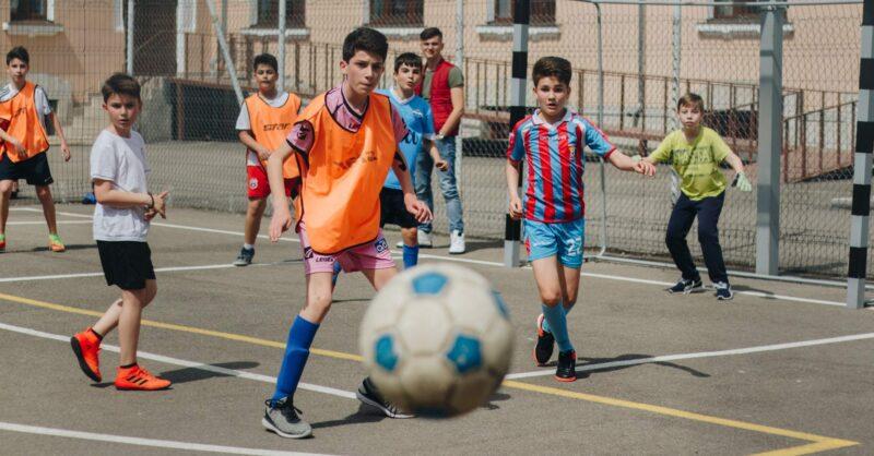 desporto crianças