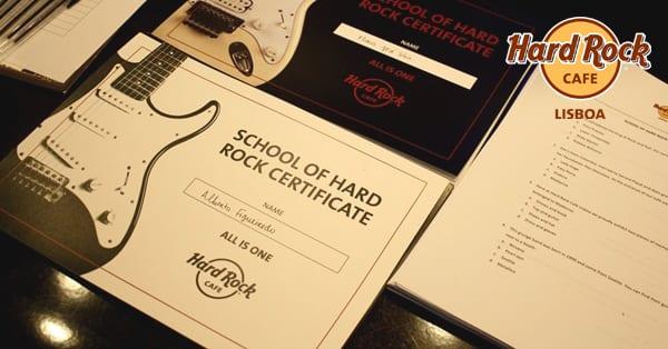 Programa Educativo 2016/2017 do Hard Rock Cafe
