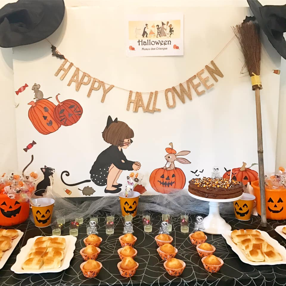 Festa de Halloween no Museu das Crianças