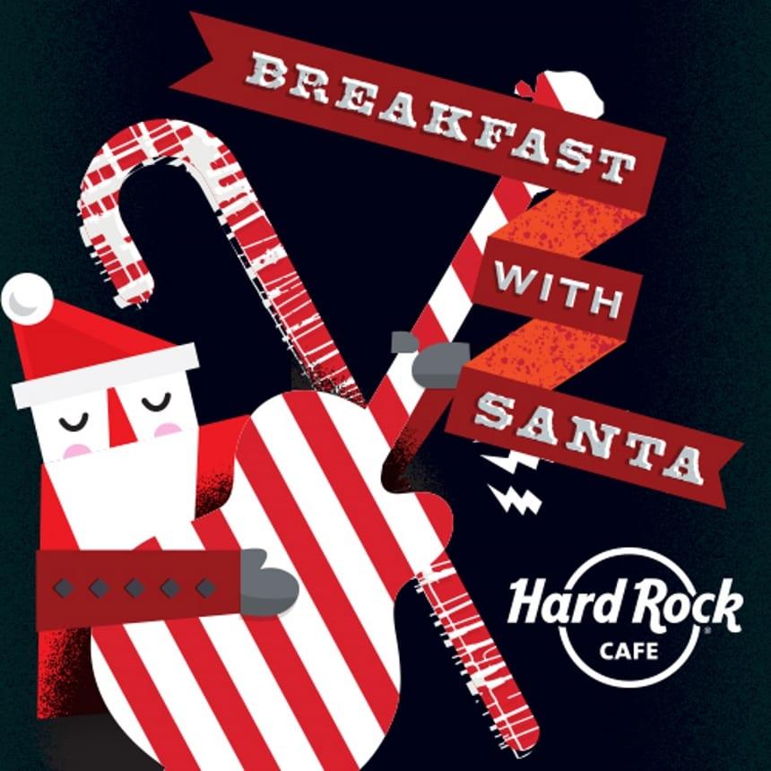 Pequeno-almoço Pai Natal Hard Rock Cafe Lisboa