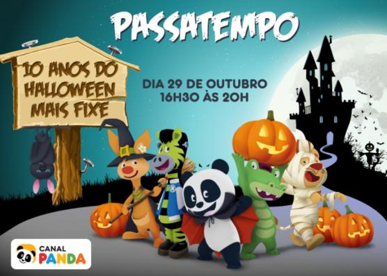 Passatempo - Festa de Halloween do Panda