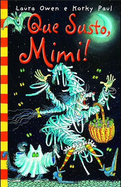 Livros terrivelmente assustadores para ler com as crianças no Halloween: que susto, mimi
