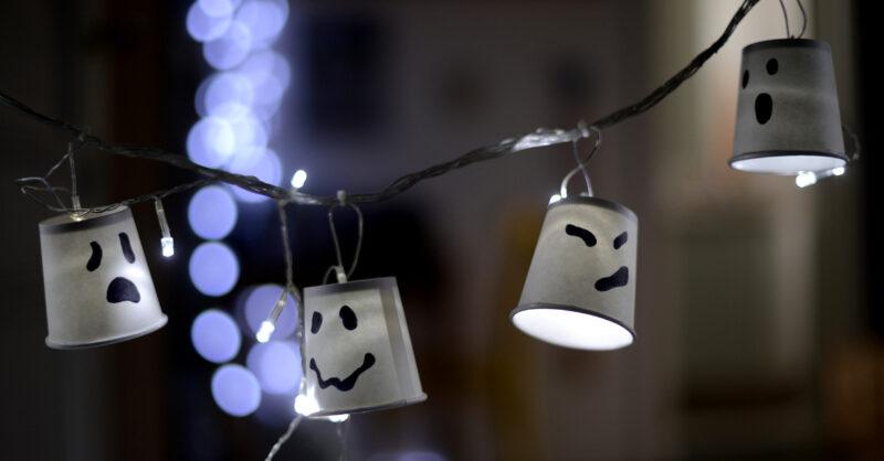 DIY: Luzinhas de Halloween!