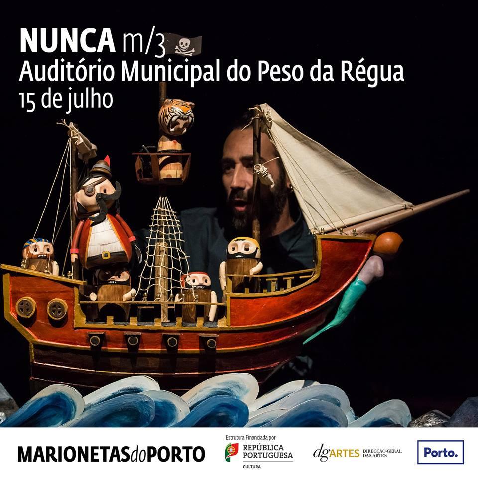 Nunca - teatro de marionetas do Porto- Peso da régua