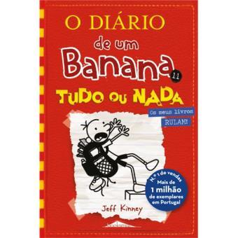 Livro O Diário de um Banana, Livro 11 - Tudo ou Nada para crianças