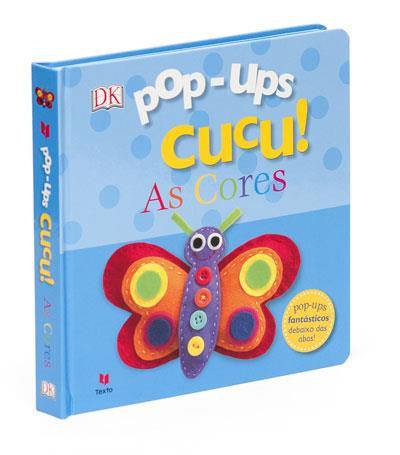 Livro Pop-ups Cucu! As Cores.
