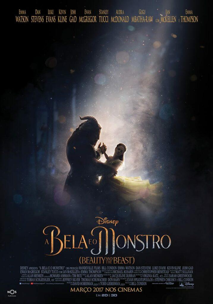 Poster Bela e o Monstro - Disney