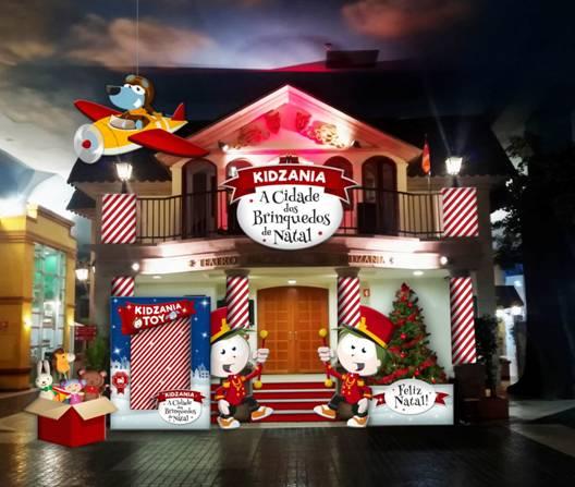 KIDZANIA transforma-se na Cidade dos Brinquedos de Natal