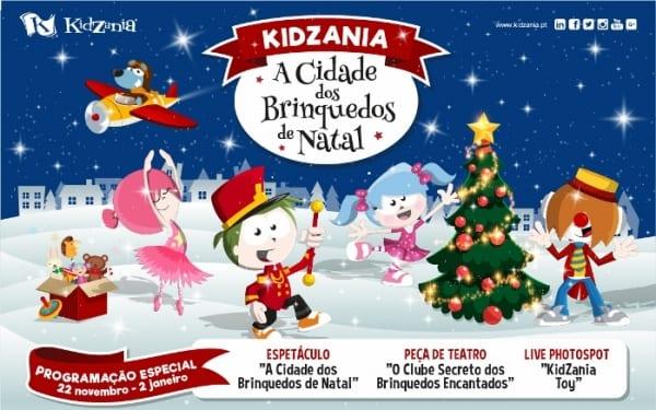 kidzania transforma se na cidade dos brinquedos de natal
