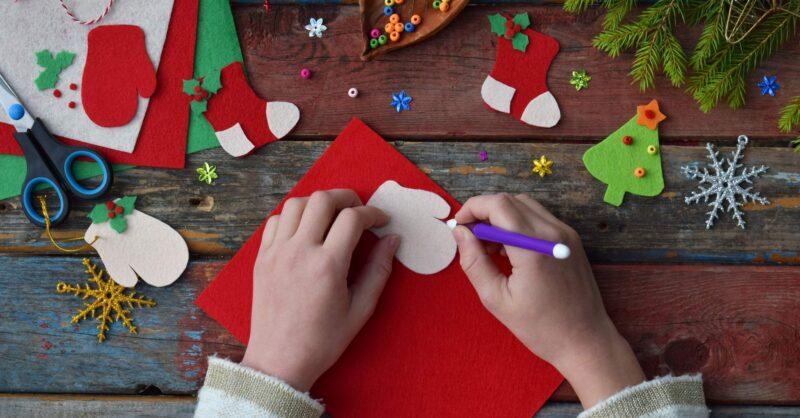 Trabalhos manuais de Natal para fazer com os miúdos!
