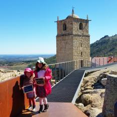 10º dia Viagem Familia Pumpkin - Belmonte Tomar