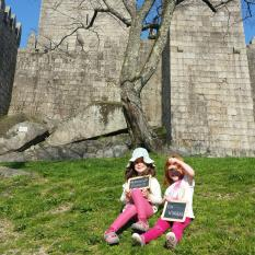 5º dia Viagem Familia Pumpkin - Viana Castelo Pedras Salgadas