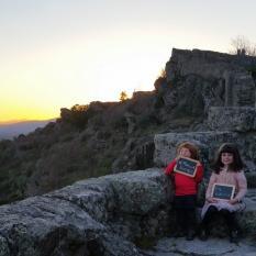 9º dia Viagem Familia Pumpkin - Castelo Rodrigo Belmonte