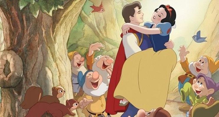 Branca de Neve Walt Disney no Disney Channel