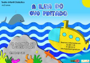 A Ilha Ovo Pintado Teatro Infantil