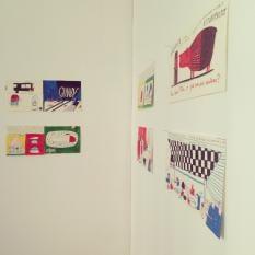 A parede desenhos Exposição Ilustrações Catarina Sobral