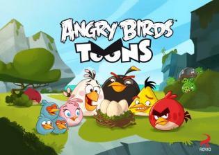 Angry Birds Toons estreia Biggs