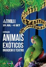 Animais Exóticos invadem Teatro