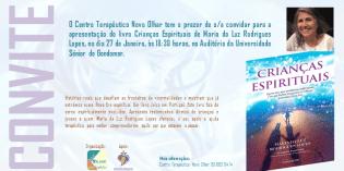 Apresentação Livro Crianças Espirituais Maria Luz Rodrigues Lopes
