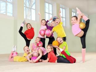 As melhores escolas ginástica as criancas