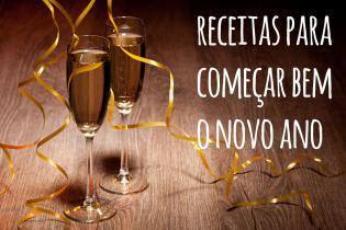 As melhores receitas festejar Ano Novo