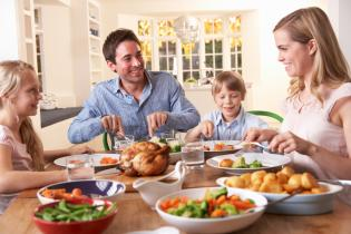 As refeicões são muito mais comer - 3 licões pais aprenderem