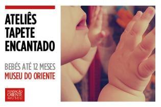 Ateliê Tapete Encantado Estrelinhas cadentes atividade bebés Museu Oriente