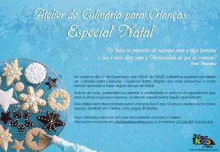 Atelier Culinária Infantil Especial Natal