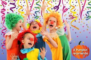 Atividades as criancas carnaval família