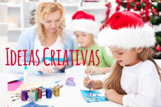 Atividades criativas fazer Natal