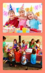 Atividades fazer miúdos nas festas aniversário