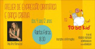 Aulas Teatro-ATELIER EXPRESSÃO DRAMÁTIC DANc CRIATIVA