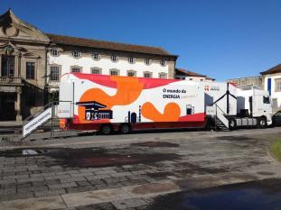 Autocarro Mundo Energia chega Castelo Branco
