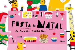 BAOBí livraria Festa Natal Planeta Tangerina