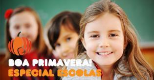 Boa Primavera: novidades escolas professores