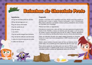 Bolachas Chocolate Preto