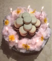 Bolo aniversário improvisado (mas personalizado)