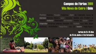 Campo Férias Verão Vila Nova Ceira, UPAJE, 25 Junho 3 Setembro