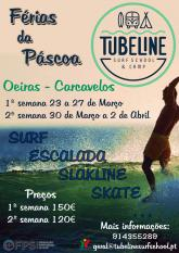 Campos férias páscoa TubeLine Surf School