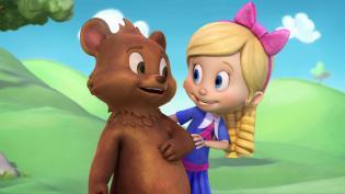 Caracóis Dourados Ursinho chegam Disney Junior