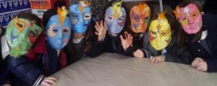 Carnaval Museu Visita Oficina Expressão Plástica  Máscaras Venezianas