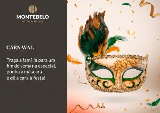 Celebre Carnaval família Montebelo Hotels & Resorts