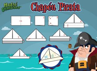 Como fazer Chapéu Pirata