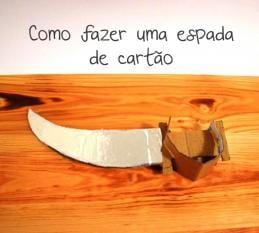 Como fazer uma espada pirata